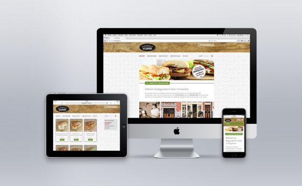 Lunettedesign webdesign Baguetterie Vlaar
